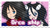 Orca Ship Stamp by BlossomCherrie