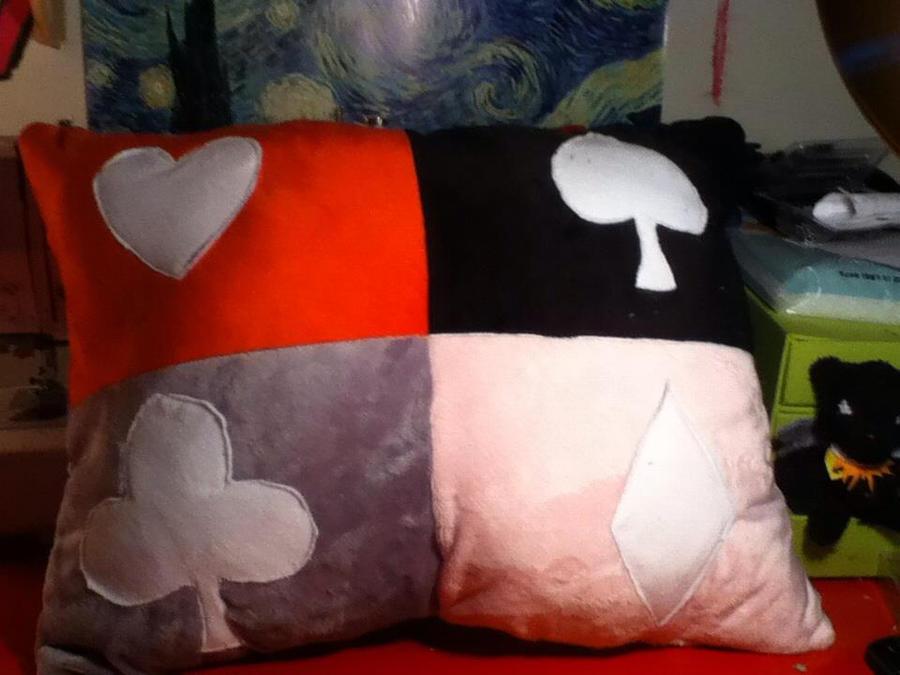 Quadrants Pillow by Chibi-Katie