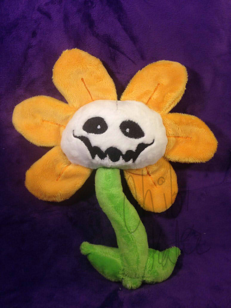 Flowey The Flower by Chibi-Katie