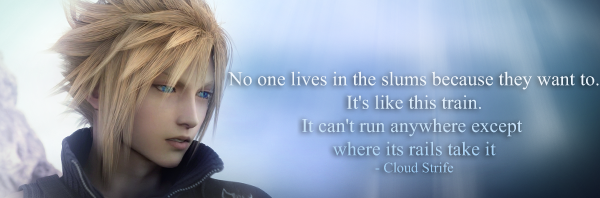 Final Fantasy VII: Cloud {Quote 1} by Sky-Mistress on DeviantArt
