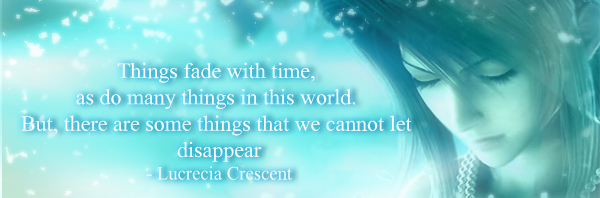 Final Fantasy VII Lucrecia Quote 1 By Sky Mistress On DeviantArt