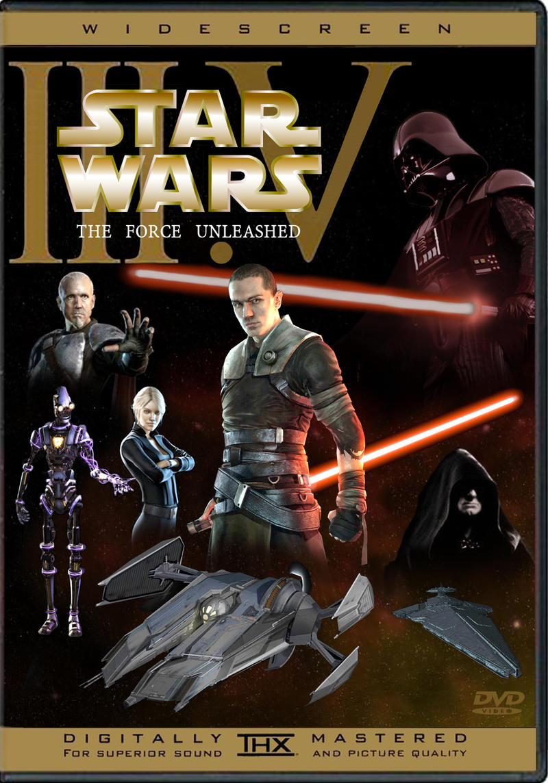 Star Wars The Force Unleashed by kevinrosborn