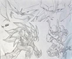 Ssj3 Goku Vs Janemba By Watersdbzart-d4v8911
