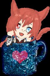 Cutie in a cup