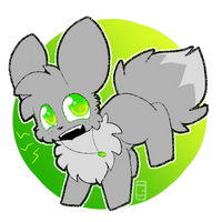 shiny vee chibi by gingerale71777