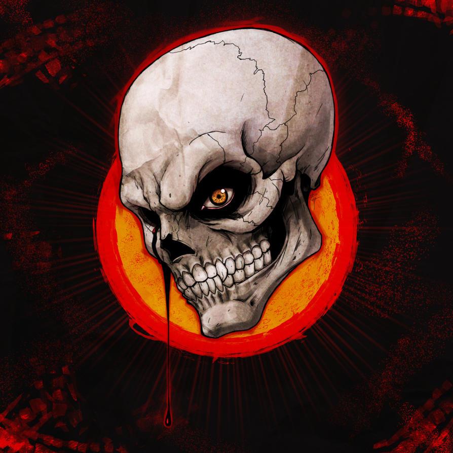 Skeletal Teardrop by combustocrat