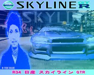 r34 Nissan Skyline GTR : D-Toe by thetrackers