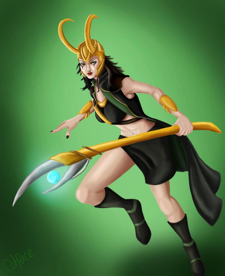 Leblanc Avengers Skin - Loki by NBDigitalArt