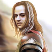 Jaqen H'ghar - the Faceless Man of Braavos by NBDigitalArt