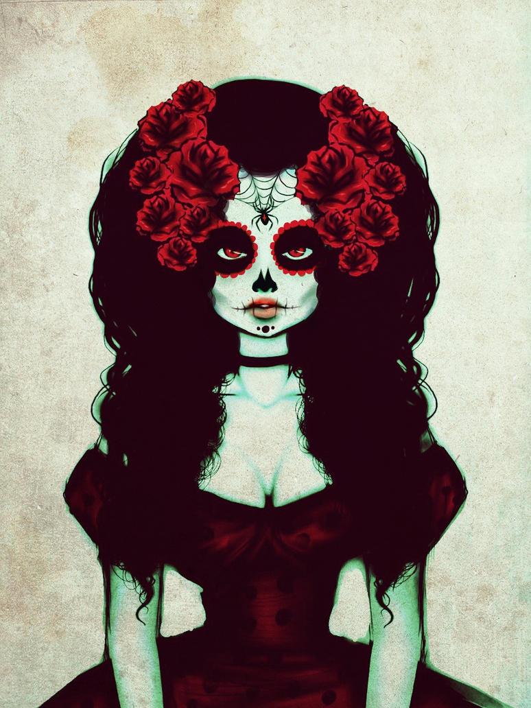 La muerte de una rosa by Geiboi
