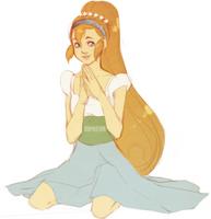 Thumbelina by Arcuu