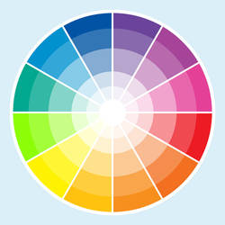 color wheel by milkpoo