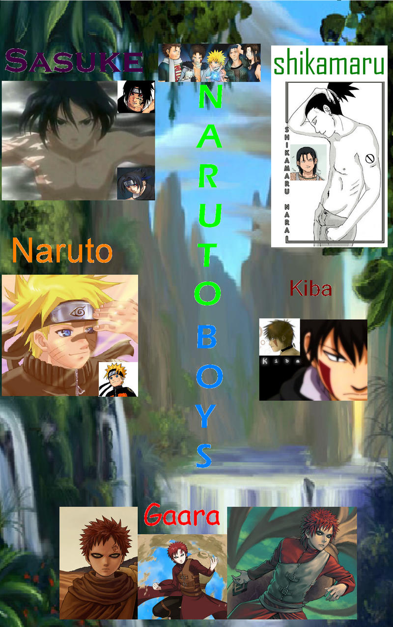 naruto's hot-sexy boys by