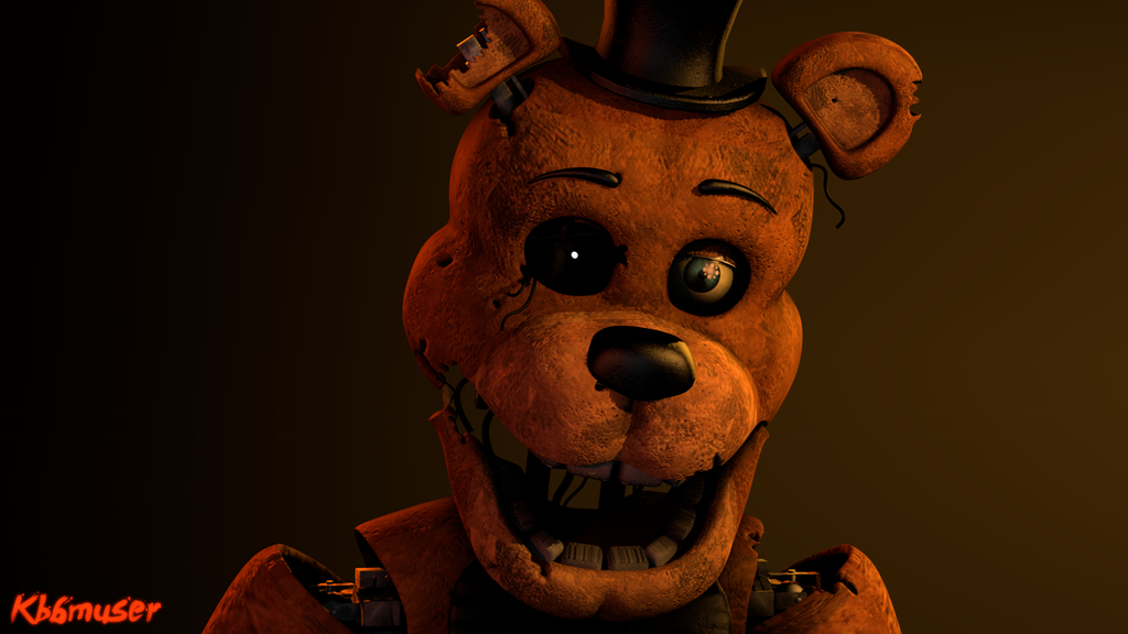 Stylized W.Freddy Poster by Kooble6muser