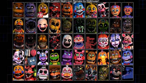 Ultimate Custom Night Roster Remake