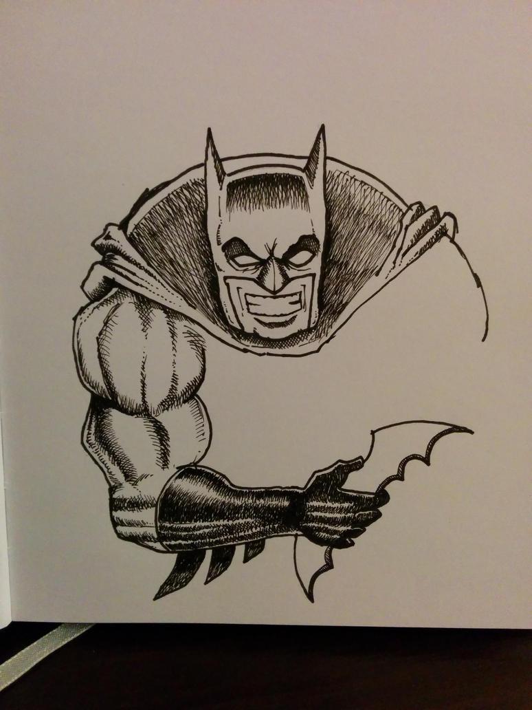 Batman sketch by maciekszlachta