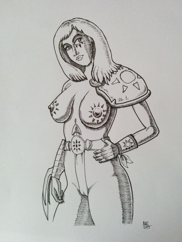 Barbarian by maciekszlachta