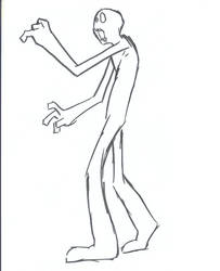Zombie pose by blob-monsta