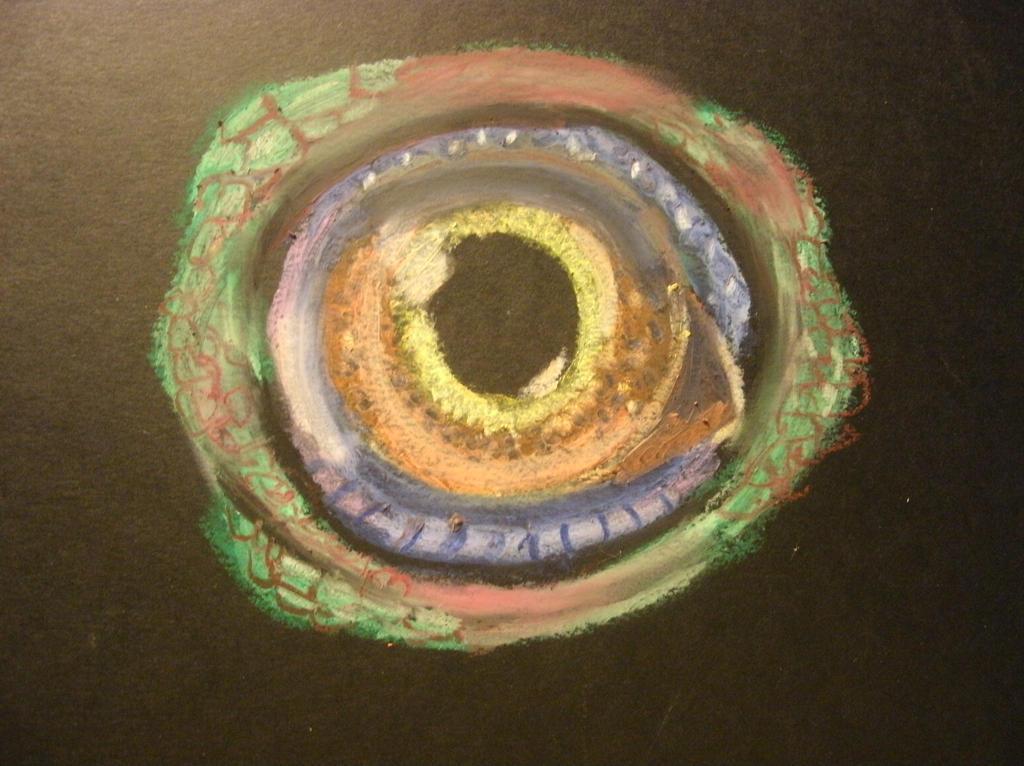 iguana eye painting - photo #9
