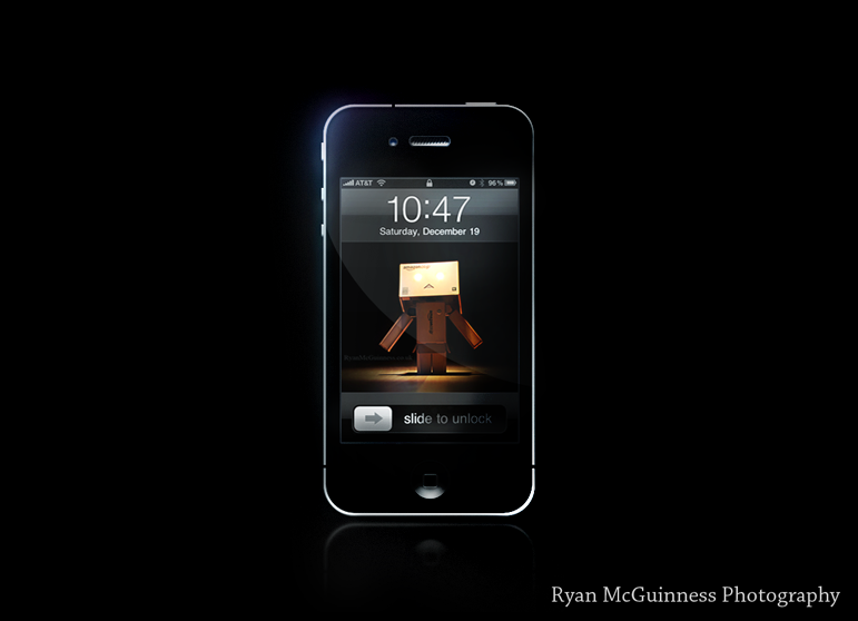 Danbo's Darkside for Iphone by RyanMichael