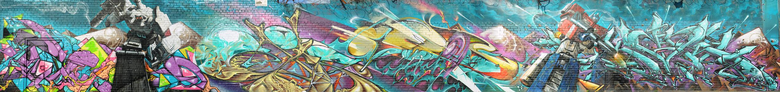 Transformers Graffiti by RyanMichael