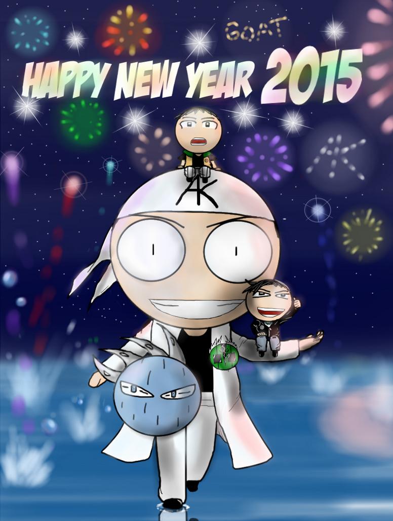 Happy New Year 2015 AK Ver by AK32