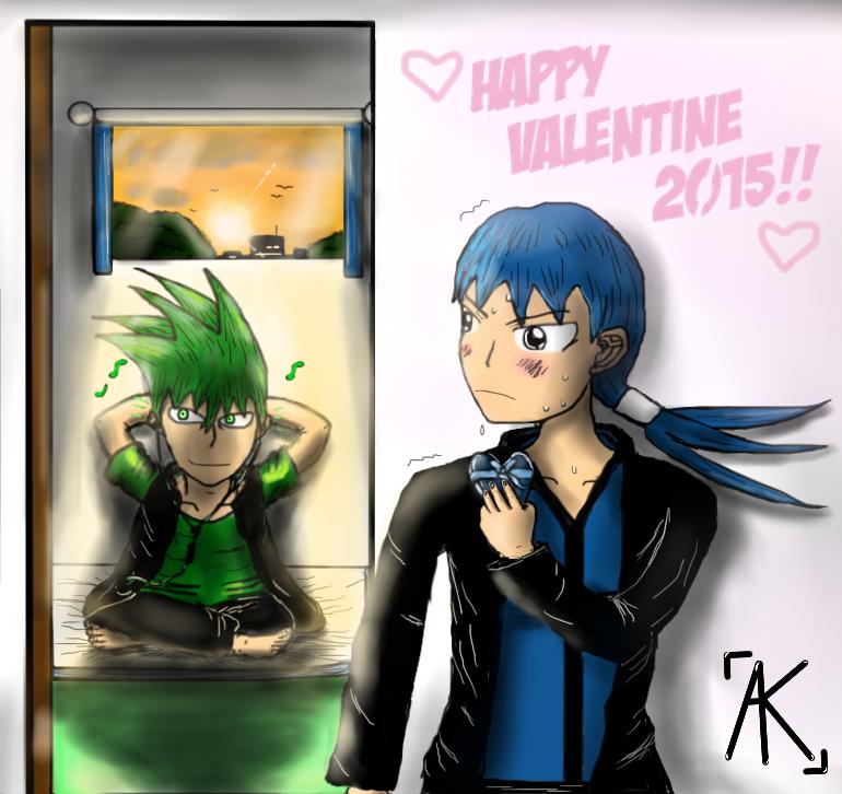 Happy Valentine 2015 AK by AK32