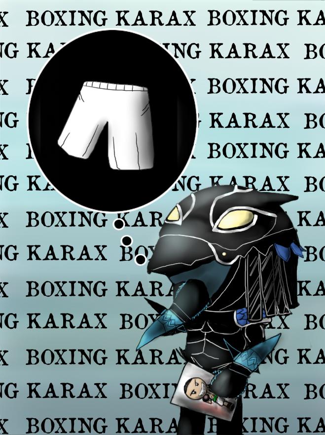 Boxing Karax AK Artsyle by AK32