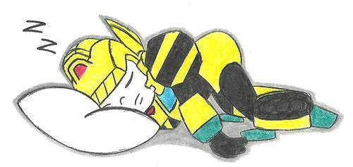 Sleepy PJ by AutobotSparkyPrime