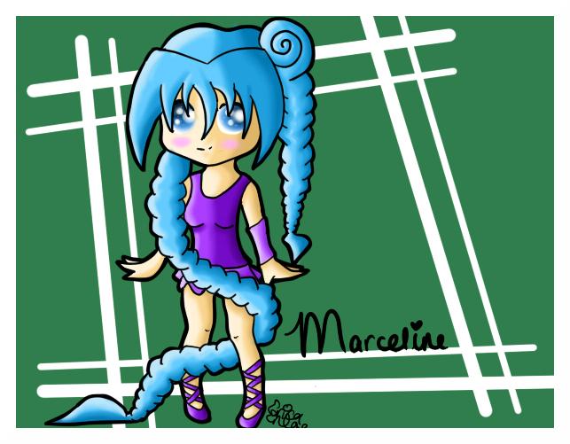 Pretty Marceline by Anaxandreah