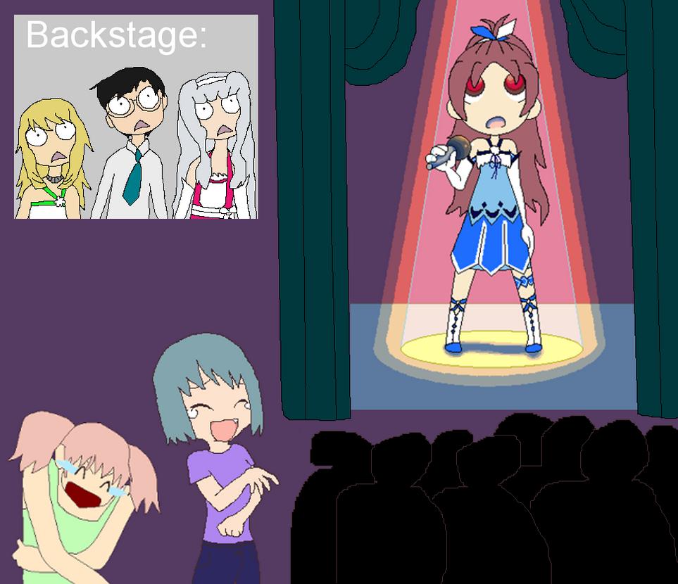 RQ5 Puella Magi Madoka Magica comedy scene by spkdog