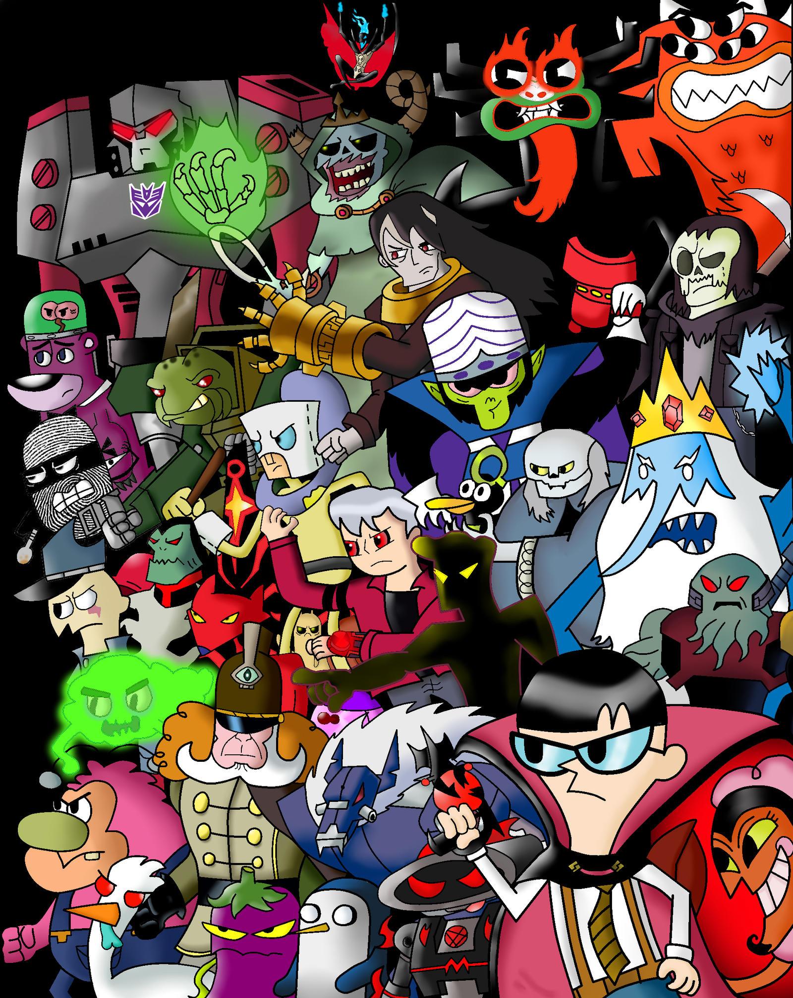 Cartoon network villains by cartoonnetworkadik on deviantart - Cat cartoon shows ...