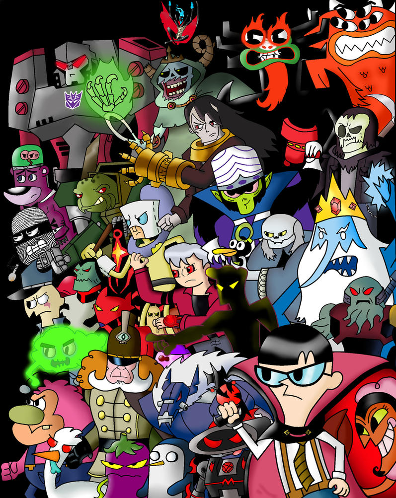 Cartoon Characters Named Jack : Cartoon network villains by cartoonnetworkadik on deviantart