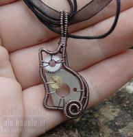 Clockwork kitten by ukapala