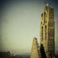 The Tower and the Seagull 2 by ukapala