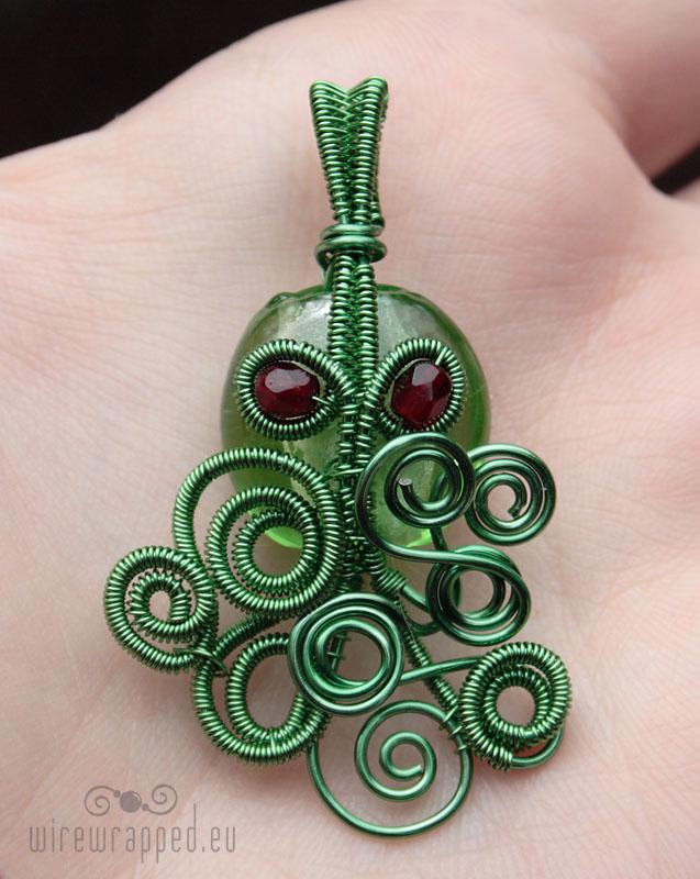 Cthulhu pendant II by ukapala