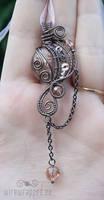 Steampink pendant III by ukapala