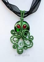 Cthulhu pendant III by ukapala