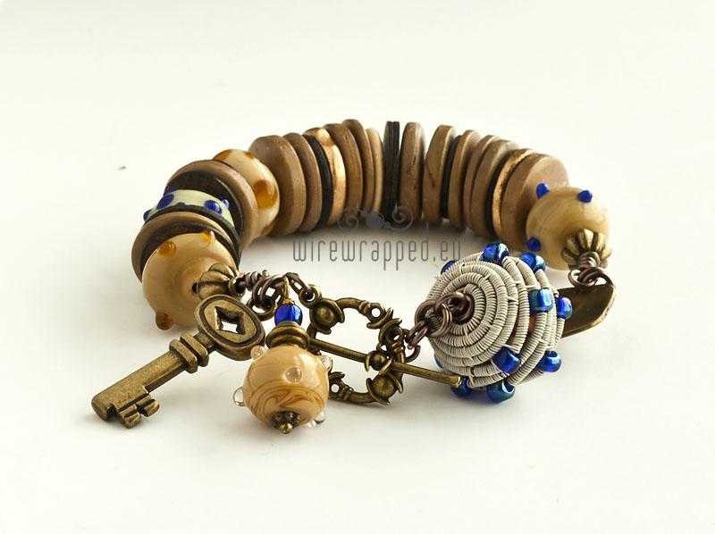 Caramel bracelet by ukapala
