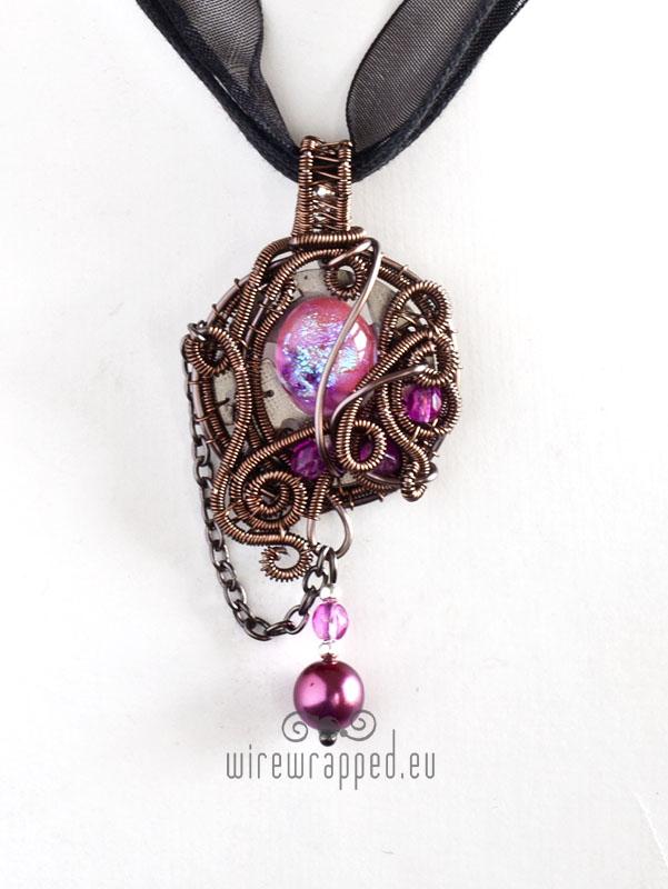 Steampink pendant by ukapala