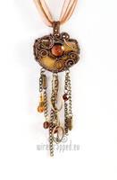 Industrial steampunk pendant by ukapala