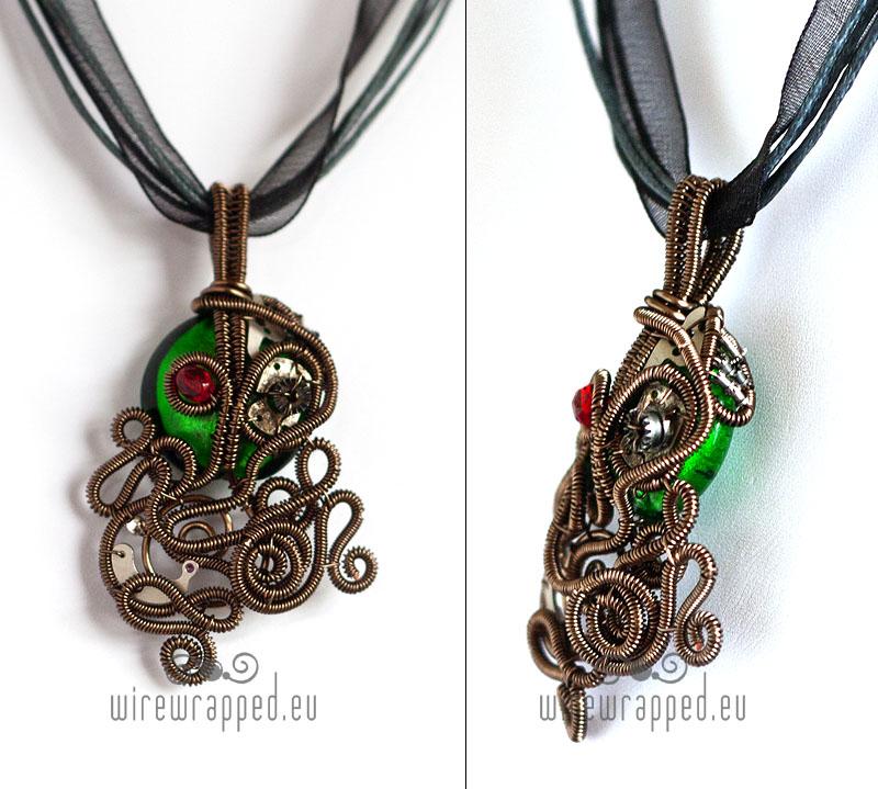 Borg Cthulhu pendant by ukapala