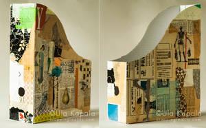 Collaged file box no 1 by ukapala