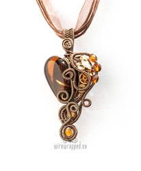 Brown steampunk heart 1 2019