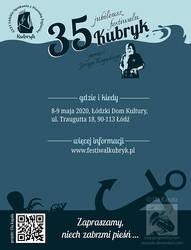 Kubryk Festival info leaflet