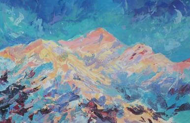 Bengal Mountain by AdamSeaKlein