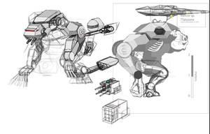 First Order Walker Concept Progress Month 2