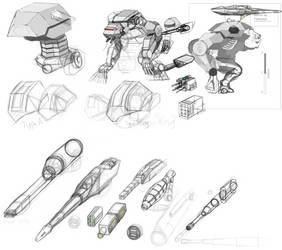 First Order Walker Concept WIP Month 3