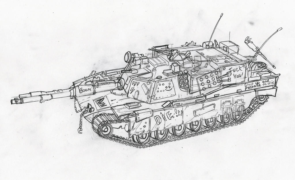 Abrams M1A4 by KharnBetrayer