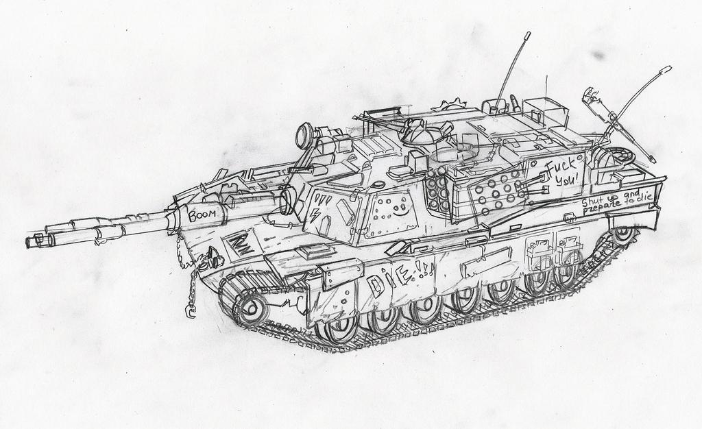 Abrams M1A4 by YorickAngerfist
